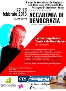 A Vico Equense appuntamento con l'Accademia di democrazia