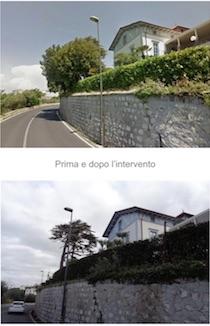 Taglio di alberi davanti al relais a Sorrento, denuncia Wwf