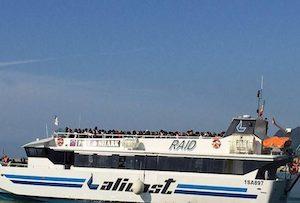 Da aprile ripartono le linee Alicost tra i golfi di Napoli e Salerno