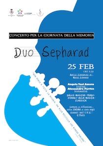 A Massa Lubrense concerto e riflessioni sulla Shoah