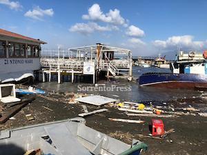 Maltempo, il Comune di Sorrento chiede lo stato di calamità naturale