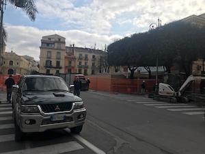 Apre il cantiere per ultimare il corso Italia di Sorrento