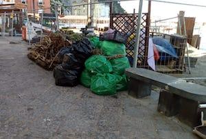 Tre tonnellate di rifiuti rimosse dalle spiagge di Sorrento