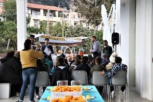 """Gli studenti di Sorrento a Villa Fiorentino per lo """"Spremuta Day"""""""
