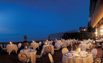Ristoranti più romantici d'Italia, locale di Sorrento al secondo posto