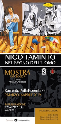 A Villa Fiorentino performance live del pittore Nico Taminto