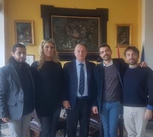 Il sindaco di Sorrento incontra l'Arcigay per il Gay Pride
