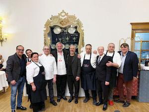 A Cortina cena con le ricette degli chef della costiera sorrentina