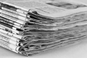 Calo delle vendite di giornali, protesta degli edicolanti