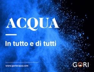 Oggi si celebra la Giornata mondiale dell'Acqua, l'impegno di Gori