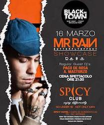 Allo Spicy di Sorrento concerto live del rapper Mr. Rain – video –