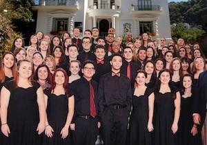 Alla Villa Fiorentino di Sorrento concerto del Chorus International