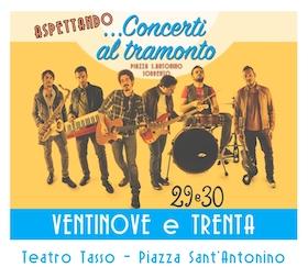A Sorrento il concerto dei Ventinove e Trenta