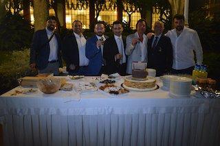 Amanti dei sigari a Sorrento per l'evento Ensueňos