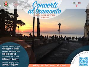 Concerti al tramonto a Sorrento, il programma della rassegna