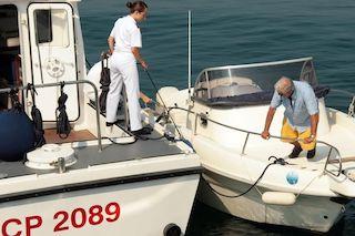 Noleggio barche, controlli e multe di Capitaneria e Finanza