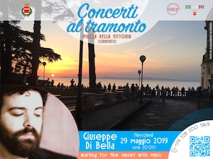Concerti al Tramonto a Sorrento, appuntamento con Giuseppe Di Bella