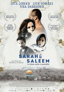 """Al Cinema Delle Rose di Piano di Sorrento """"Sarah e Saleem – Là dove nulla è possibile"""""""