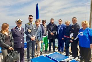 Pulizia del mare, il sottosegretario Micillo a Sorrento