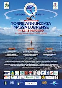 Traversata solidale a nuoto Torre Annunziata-Massa Lubrense