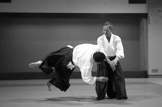 A Sorrento il maestro di aikido Yoshinobu Takeda