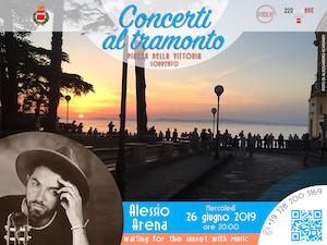 """Alessio Arena a """"I Concerti al Tramonto"""" di Sorrento"""