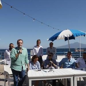 Questa mattina a Sorrento Festa della Bandiera Blu con il ministro Costa