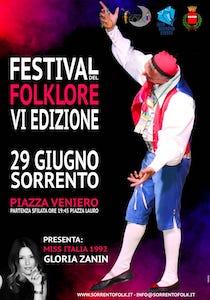 A Sorrento appuntamento con il Festival del Folklore 2019