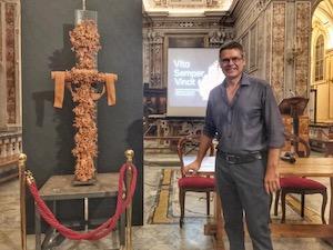 """A Sorrento dibattito sull'opera di Marcello Aversa """"Vita Semper Vincit"""""""