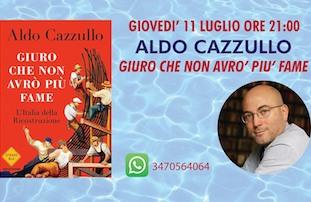 """Aldo Cazzullo a Le Axidie di Vico Equense apre """"Ubik Vista Mare 2019"""""""