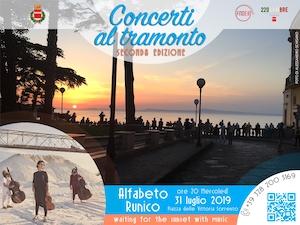 Stasera in piazza della Vittoria a Sorrento concerto di Alfabeto Runico