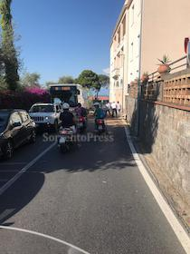 Perdita di carburante, traffico in tilt a Sorrento
