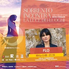 A Sorrento il concerto di Flo