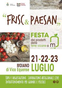 """A Vico Equense sapori locali e divertimento con """"Frisc & Paesan"""""""