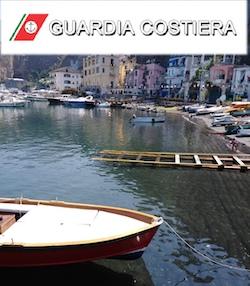 Occupazioni demaniali irregolari al porto di Piano di Sorrento sanzionate dalla Capitaneria