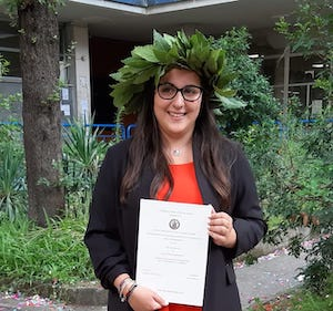 Laurea in Ingegneria Biomedica per la neo dottoressa Rita Esposito