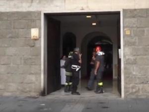 Arrestato l'attentatore al palazzo Vescovile di don Arturo Aiello ad Avellino