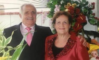 Festa a Vico Equense per le nozze di diamante di Giacomo e Titina Scala