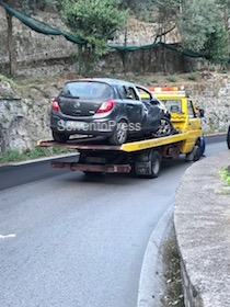 Incidente mortale sulla Sorrento-Massa Lubrense – foto –