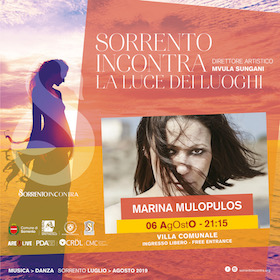 A Sorrento Incontra concerto di Marina Mulopulos