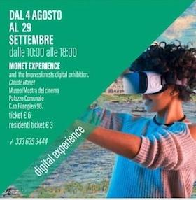 Vico Equense, mostra multimediale dedicata a Monet e concerti all'alba ed al tramonto