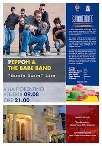 Stasera a Sorrento concerto di Pepp Oh & The Babe band