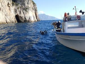 Aree marine e pescatori insieme per ripulire il mare della Campania