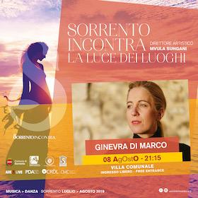 A Sorrento Incontra concerto di Ginevra Di Marco