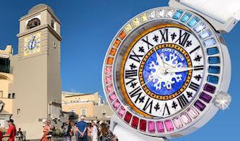 Capri Watch ripropone il mitico orologio con il quadrante della Piazzetta
