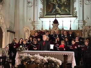 A Sorrento concerto della corale Santa Maria del Lauro di Meta