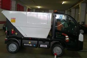 Nuovo mezzo elettrico per la raccolta rifiuti a Massa Lubrense