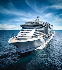 Battesimo del mare per la Seashore nuova ammiraglia Msc Crociere