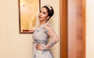 La star della lirica Svetlana Kasyan innamorata di Sorrento e Piano