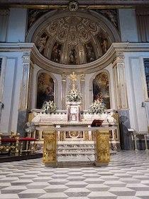 Un nuovo altare per la Basilica di Sant'Antonino a Sorrento